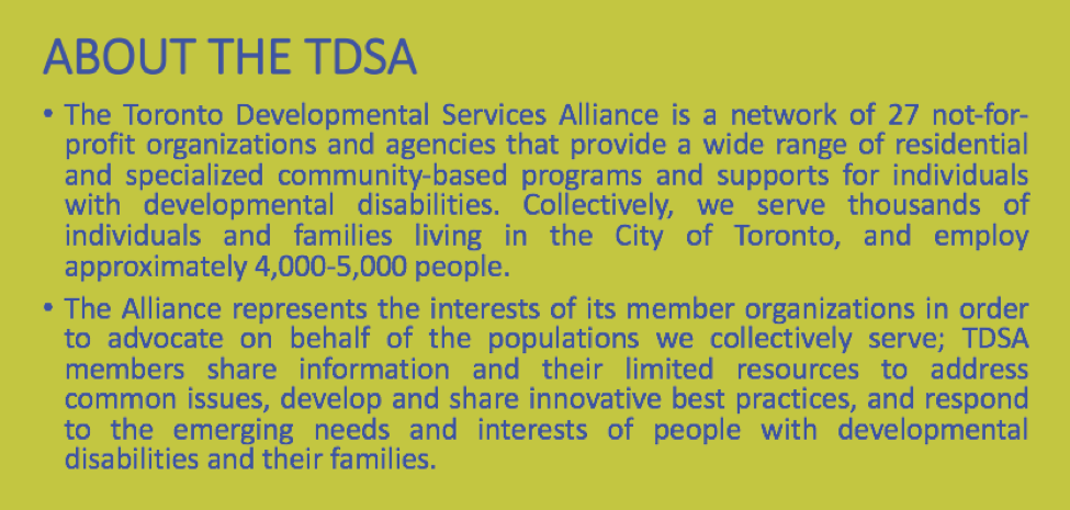 about the tdsa